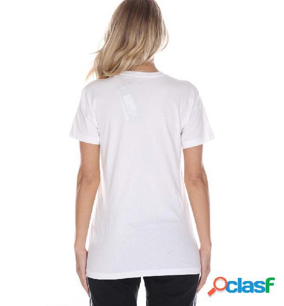 Camiseta casual mujer adidas w bos co tee blanco m