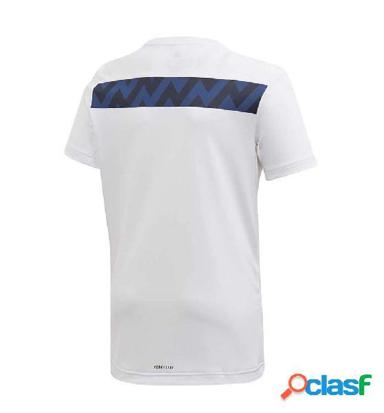 Camiseta casual nño adidas jb tr xfg tee 164 blanco