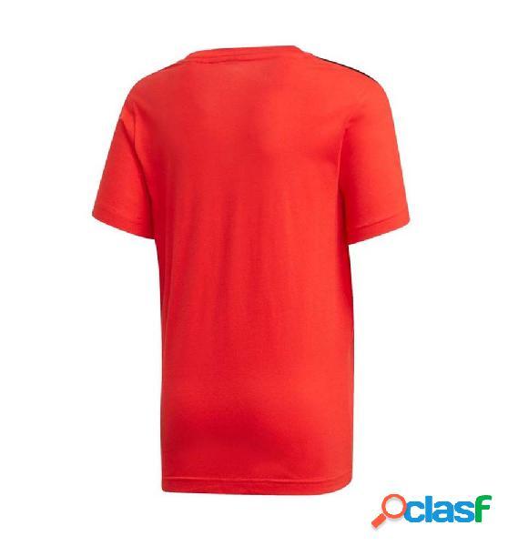 Camiseta casual roja adidas jb a aac tee manga corta 164 rojo