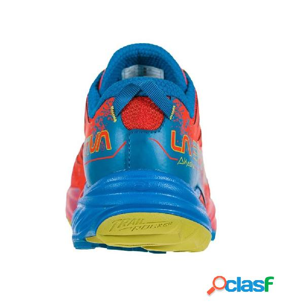 Zapatillas trail running hombre la sportiva akasha 42.5 rojo