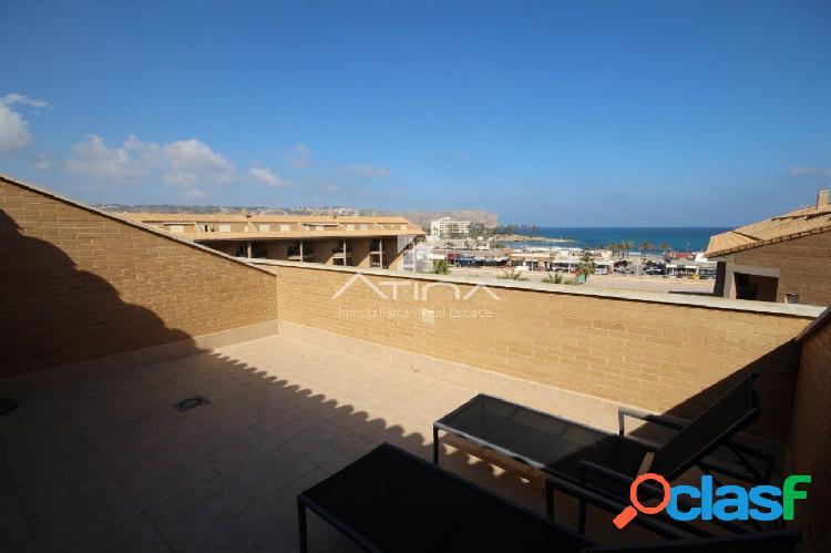 """""""Fantástico ático dúplex con vistas al mar en primera linea de playa del Arenal en Jávea."""" 2"""