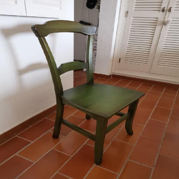 6 sillas artesanales menorquinas