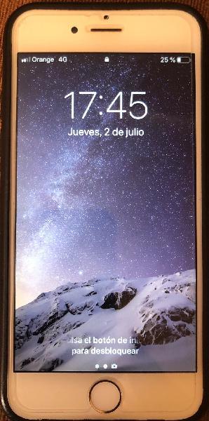 Apple iphone 6 - 16gb - gris espacial (libre).