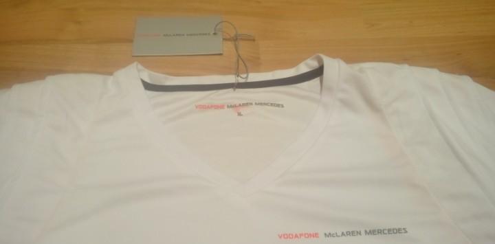 Camiseta mclaren vodafone mercedes (producto oficial)