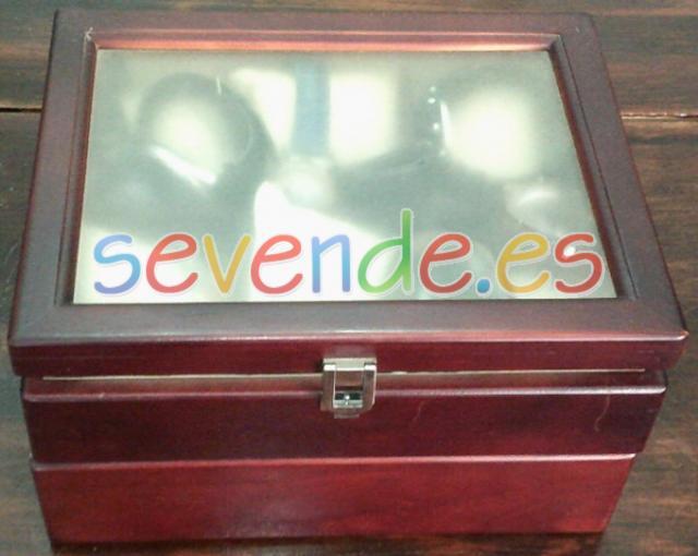 Caja de madera para relojes
