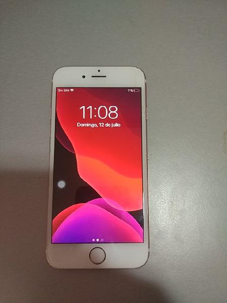 Iphone 6s rosa 16gb caja