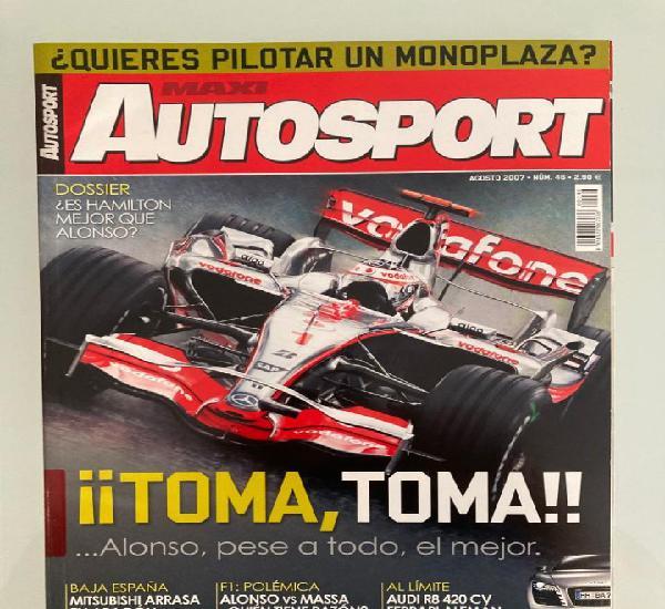 Maxi autosport 46, f1,opel corsa opc,renault clio f1,audi