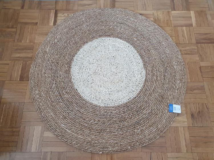 Nueva - alfombra de fibra natural (100x100 cm)