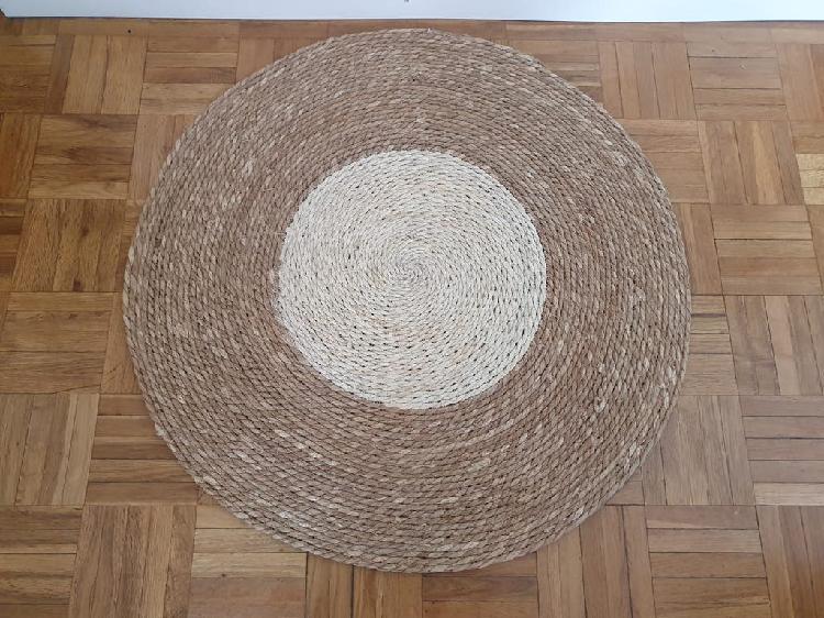 Nueva - alfombra de fibra natural (80x80 cm)