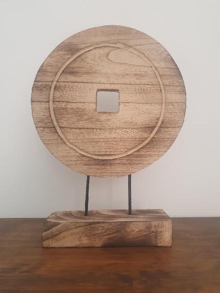 Nuevo - decoración paulownia círculo