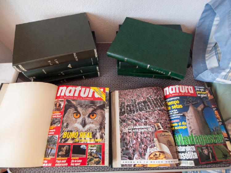 Natura revistas 92´-00´ (horarios lunes en texto)
