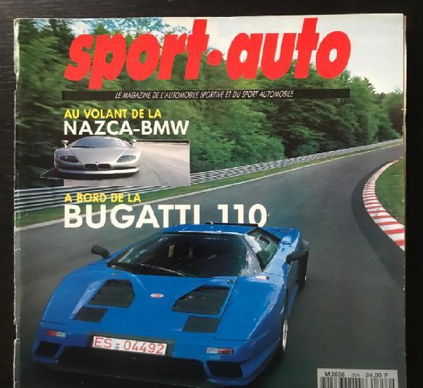 Sport auto nº 354 - bugatti 110 nazca bmw lexus sc 400 fiat