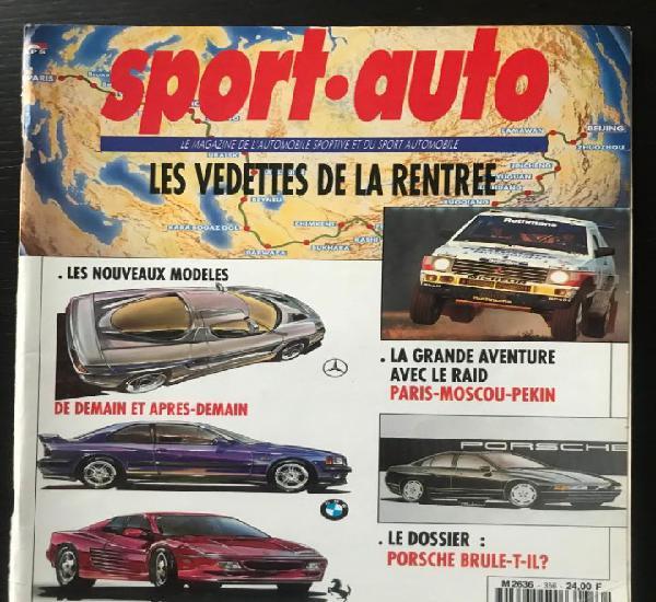 Sport auto nº 356 - porsche 968 911 carrera 2 s formula 1