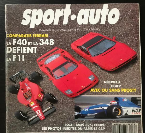 Sport auto nº 361 - ligier formula lancia delta gr.a