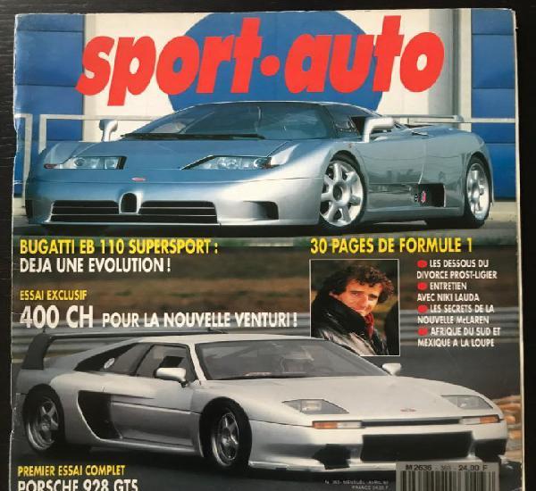 Sport auto nº 363 - rallye portugal f1 sudafrica venturi
