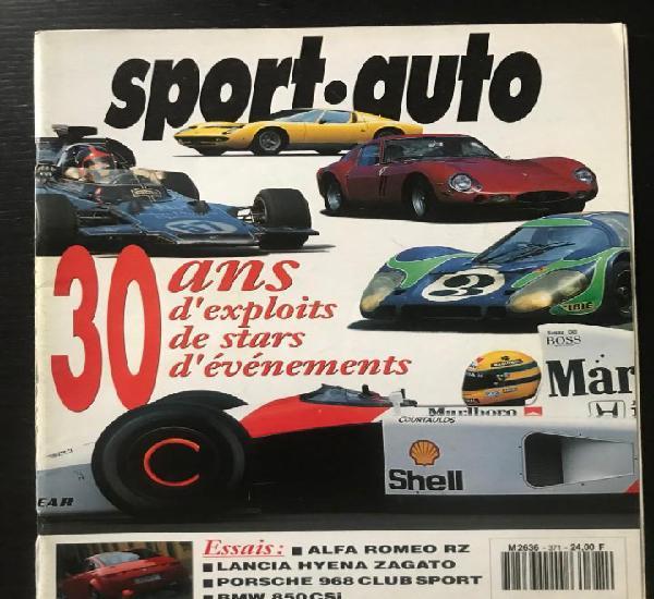 Sport auto nº 371 - rallye catalunya jacky ickx bmw 850 csi