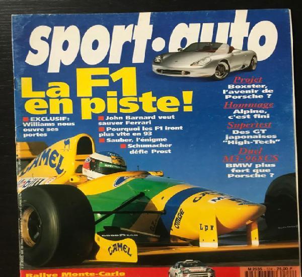 Sport auto nº 374 - rallye montecarlo suecia daytona