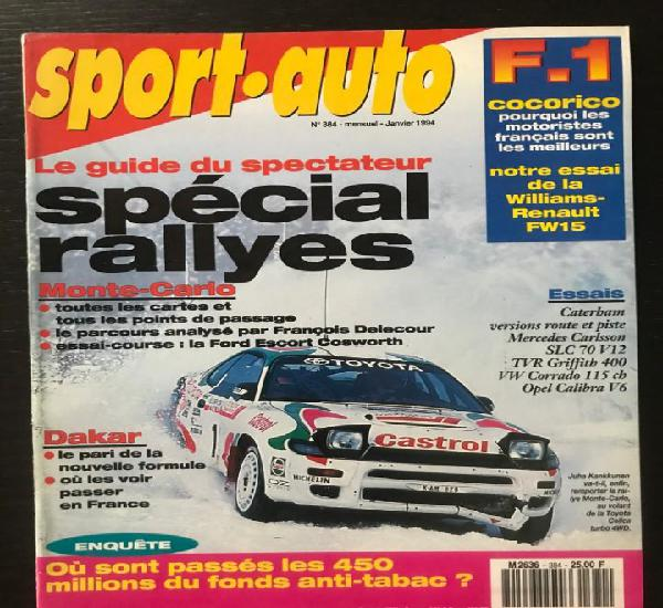 Sport auto nº 384 - mercedes sl 320 carlsson c70 tvr