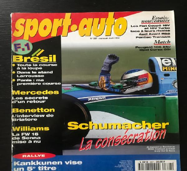 Sport auto nº 387 - audi rs2 peugeot 106 xsi opel corsa gsi