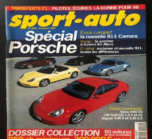 Sport auto nº 429 - pininfarina - jaguar xjr 8 - vw golf
