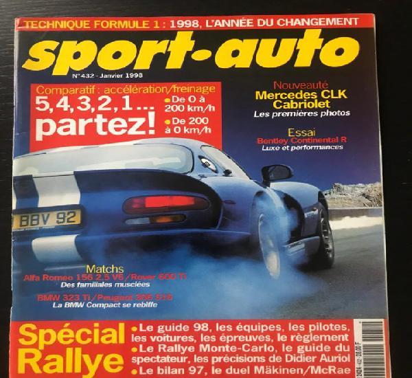 Sport auto nº 432 - maserati bora - mosley - bentley