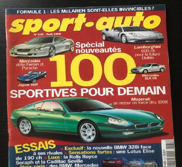 Sport auto nº 435 - ferrari 308 - cadillac seville - lotus