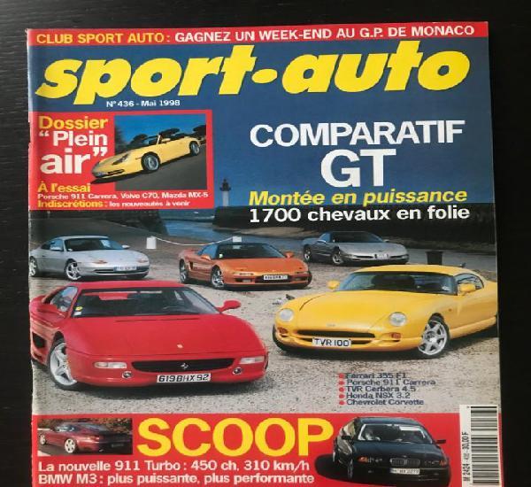Sport auto nº 436 - porsche 911 carrera mazda mx5 volvo c70