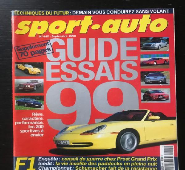 Sport auto nº 440 - edsel - lamborghini lp 400 - gp tripoli