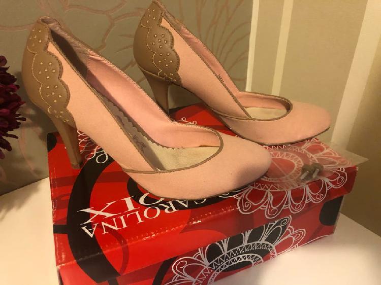 Zapatos salón rosa talla 36