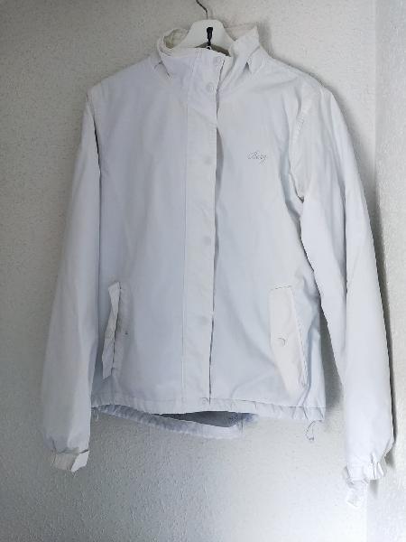Chaqueta abrigo blanca gorda nueva talla m/l