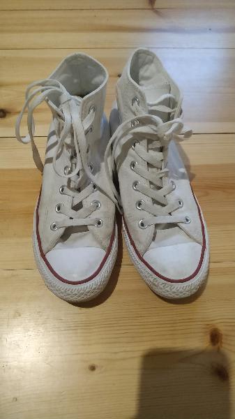 Converse all star bota blancas