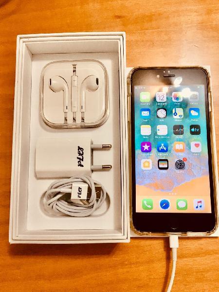 Iphone 6 plus 16gb dorado impoluto libre