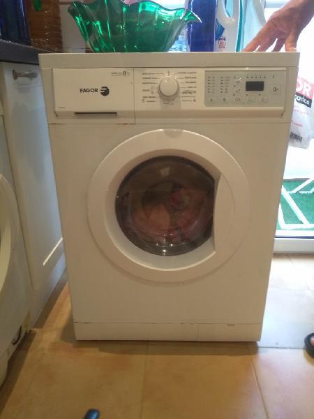 Lavadora fagor de 6 kilos