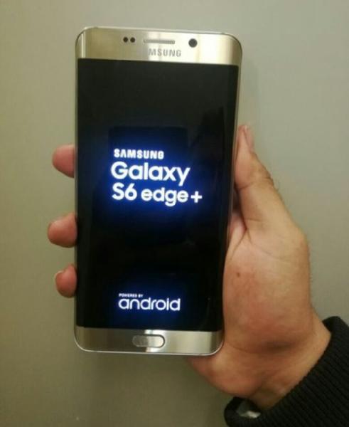 S6 edge plus oro