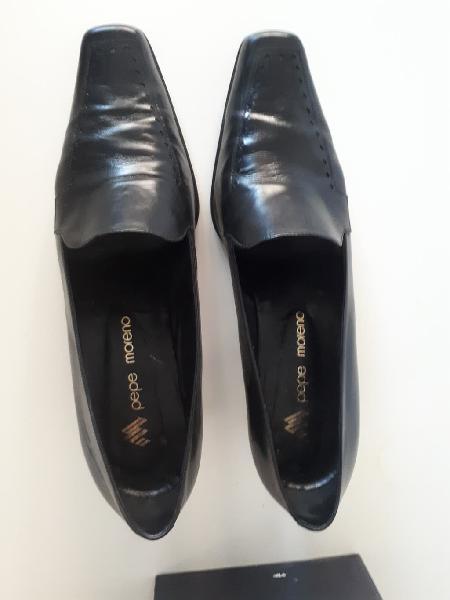 Zapatos tacón piel mujer talla 41