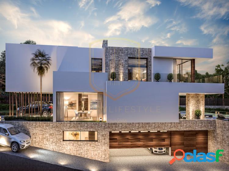 Magnifica nueva villa de diseño contemporáneo, guadalmina baja