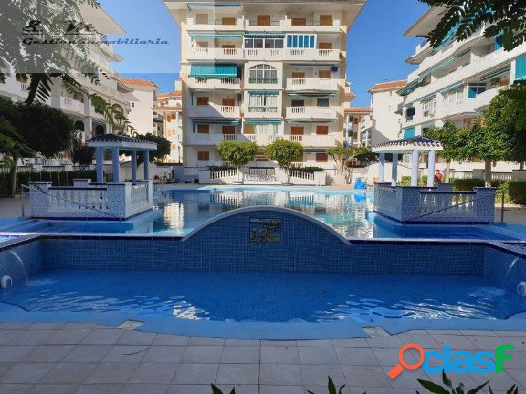 Apartamento a 200 metros de la playa con vistas al mar en viñamar vi
