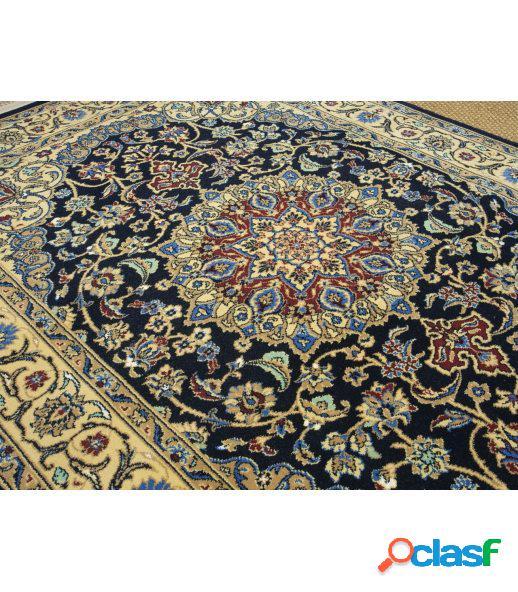 Persia 813. alfombra clásica de pura lana virgen.