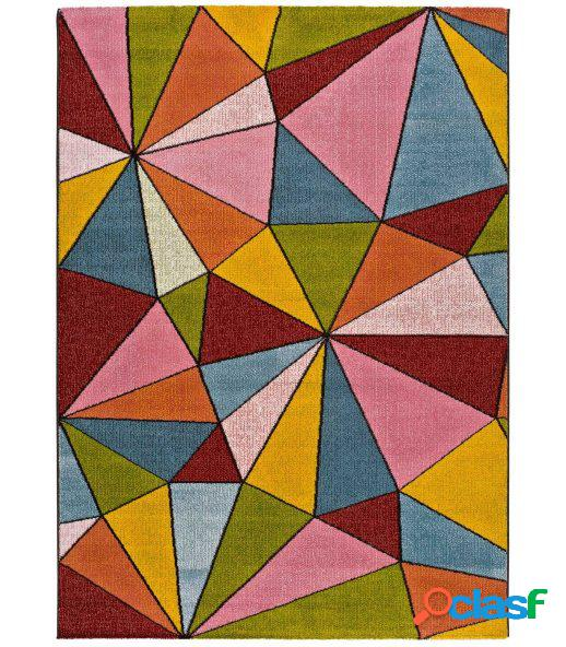 Dori 40. alfombra geométricos multicolor.