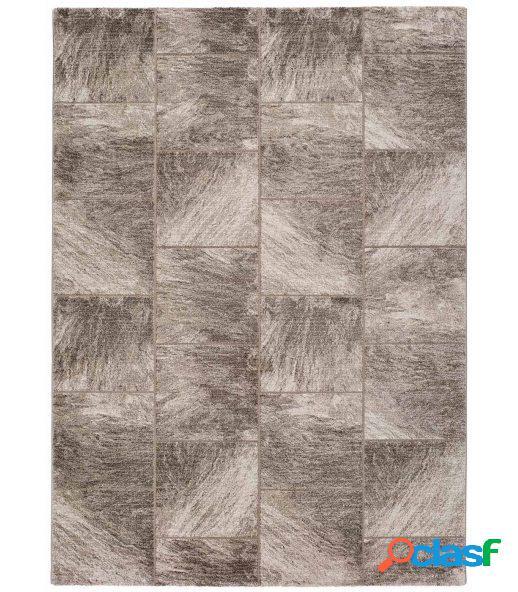 Vanila 661. alfombra moderna efecto desgastado.