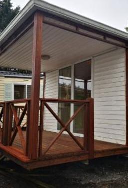 Casa móvil con terraza muy bonita