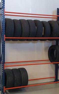 Estantería para neumáticos