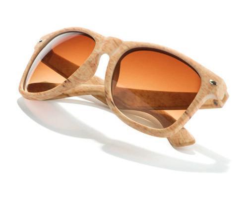Gafas de sol imitación madera