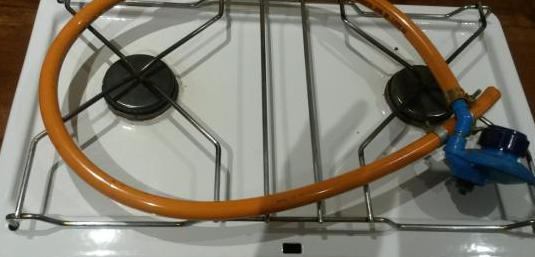 Hornillo de dos fuegos, con o sin bombona