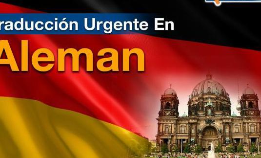 Traduccion urgente en aleman