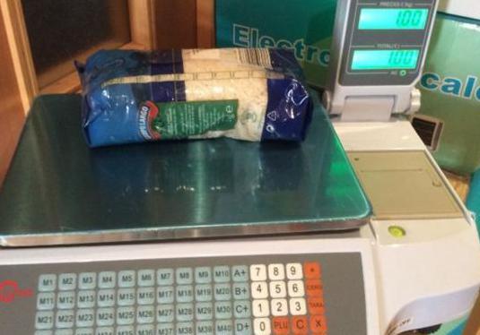 Balanza bascula con impresora de ticket progra...
