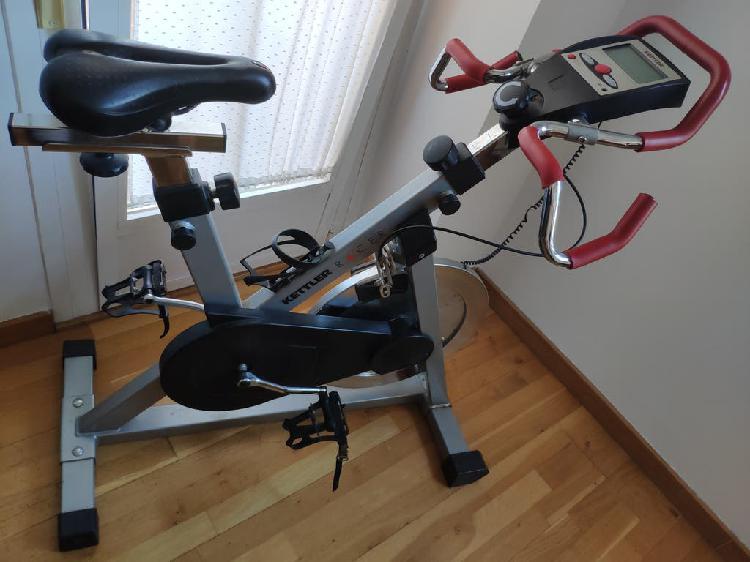 Bicicleta estática kettler racer disco 20k alemana