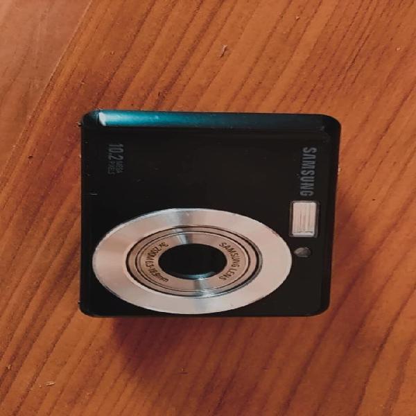 Cámara fotográfica digital samsung 10.2 mpx negra.