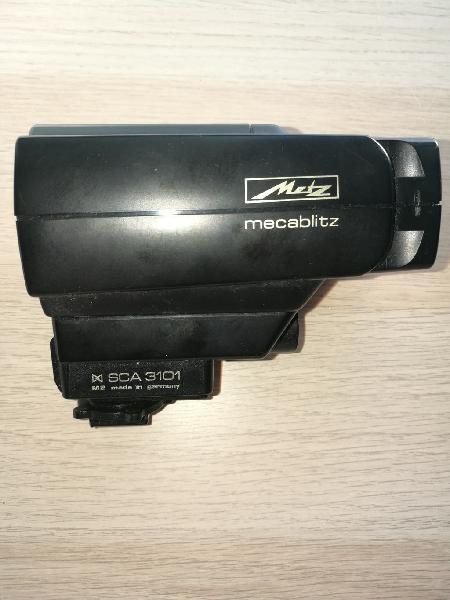 Flash metz mecablitz 32 mz-3 + adaptador canon sca
