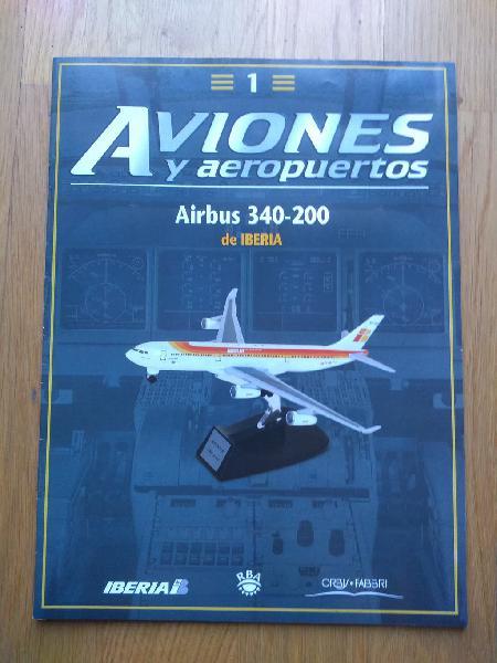 """Fascículos colección """"aviones y aeropuertos"""""""